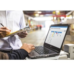 Pc Portable HP Probook 640 G1 Core i5 4éme Génération 4200M 2.5 Ghz Turbo 3.1 Ghz - 4G - 128G SSD Ecran 14 LED HD+ DVD+/-RW - Windows 8 Pro Etat comme neuf