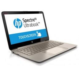 Pc Portable HP Spectre 13 Ultrabook Tactile Core i7-4500U 4éme génération 1,8 GHz Turbo 3,0Ghz - SSD 256 Go - RAM 8 Go Ecran113,3'' Full HD Clavier retro - Recovery Windows 8.1 Coloris brun Etat comme neuf