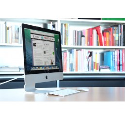 Apple iMac 21,5 Pouces 2014 Core i7 Quad Coeur 3.1GHz Turbo 3.9Ghz 16Go DDR3 1.12TB FUSION DRIVE - NVIDIA GEFORCE GT 750M GDDR5 - Mac OS Sierra sans clavier et sourie Etat Occasion.