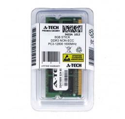 Barrette Mémoire Marque A-TECH 8Go DDR3 PC3-12800 (204-pin SODIMM, 1600MHz) Neuf sous emballage Garantie constructeur à vie