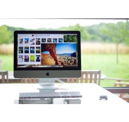 Apple iMac 21,5 Pouces Fin 2013 Core i5 Quad 2.7GHz Turbo 3.2 Ghz - 8Go - 256G SSD - Intel Iris Pro 1536Mo - Apple OSX El Captian Occasion