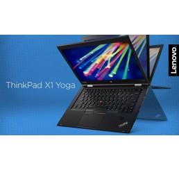 """Pc Portable Ultrabook Lenovo Thinkpad X1 YOGA 2017 Core i7-6500U 2.1Ghz Turbo 3.1Ghz  8G LPDDR3 512G SSD Ecran 14"""" Tactile WQHD Clavier rétro Lecteur d'empreinte digital WWAN 4G LTE Win10 Pro Etat comme neuf Garantie constructeur 25-05-2020"""