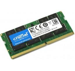 Barrette Mémoire Marque Crucial 16GB DDR4-2133 SODIMM 1.2V CL15 Neuf sous emballage Garantie constructeur à vie