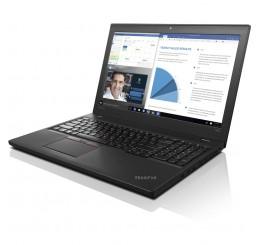 Pc Portable Lenovo Thinkpad T560 Core i5 6200U 2.3Ghz Turbo 2.8Ghz 8G DDR3L 256G SSD Ecran 15.6 LED HD Clavier Azerty Licence Windows 10 Pro Etat Quasi Neuf avec emballage