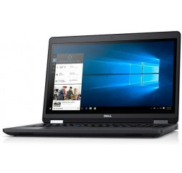 Pc Portable Dell Latitude E5570 2017 Core i5-6300U Vpro 2.4Ghz Turbo 3.0Ghz 8G DDR4 256G SSD Ecran 15.6 FULL HD Clavier rétroéclairé Licence Windows 10 Pro 64 Bit En Bon Etat