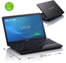 Sony Vaio 15.5 Core i3-330M  2.13Ghz - 3G - 320G - azerty - Occasion