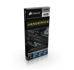 Barrette Mémoire Corsair VENGEANCE CMZ4GX3M1A1600C9 Series 4 Go DDR3 1600 MHz CL9 Neuf sous emballage
