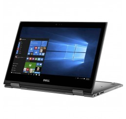 Pc Portable Dell Inspiron 13 5379 2 en 1 Core i7-8550U Quad 1.8Ghz Turbo 4.0Ghz 8G DDR4 256G SSD Ecran 13.3 Tactile FULL HD Intel UHD Graphics 620 Clavier rétroéclairé Licence Windows 10 64Bit Etat comme neuf