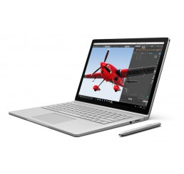 """Tablette MICROSOFT SURFACE BOOK Core i5-6300U 2.4Ghz Turbo 3Ghz 8G RAM 256G SSD Ecran IPS Tactile Multitouch 13.5"""" 3000 x 2000 Pixels NVIDIA GeForce Licence Windows 10 Pro Avec Clavier Qwerty rétro et Stylet Microsoft Etat Occasion"""