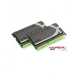 Kingston Hyperx barrettes mémoire portable SO-DIMM 4G DDR3 1600 MHz - Plug and Play - KHX1600C9S3P1K2/8G