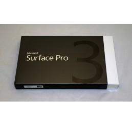 "Tablette MICROSOFT SURFACE PRO 3 Core i5 4éme Génération 4300U 1,9Ghz Turbo 2,9Ghz - 8G - 256G SSD - Ecran ClearType Full HD 12"" Windows 8 Pro Avec Stylet Neuf sous emballage"