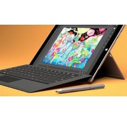 Tablette MICROSOFT SURFACE PRO 3 Core i5 4éme Génération 4300U 1.9Ghz Turbo 2.9Ghz - 8G - 256G SSD - Ecran 12 FULL HD Windows 8.1 Pro + Claviers Surface Cover Noir Etat comme neuf