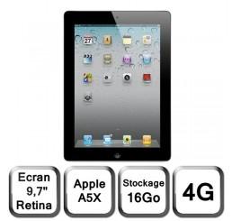 iPad 3 Retina 16G 4G + Wifi Etat Comme Neuf (sans accessoire)