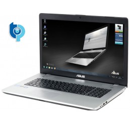 Pc Portable ASUS N56VM  Core i7-3610QM Quad 2.3Ghz Turbo 3.3Ghz - 8G - 128G SSD + 750G HDD - Ecran 17.3 FULL HD NVIDIA GeForce 630M 2G GDDR3 - Licence Windows 7 Home premium 64 Bit Etat comme neuf