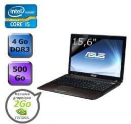 Asus X53SD Corei5-2450M 2.Ghz 4G 500G NVIDIA GeForce GT 610M 2 Go Neuf sans emballage
