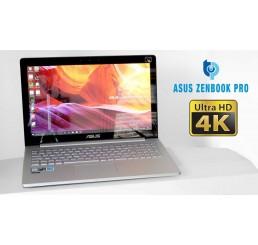 Pc Portable Ultrabook ASUS ZENBOOK PRO UX501VW 2016 Quad Core i7-6700HQ 2.6Ghz Turbo 3.5Ghz - 16G - 512G SSD - Ecran 15.6 Tactile Ultra HD 4K NVIDIA GeForce GTX 960M 2G GDDR5 - Clavier rétro - Windows 10 64 Bit Etat comme neuf