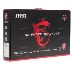 "Pc Portable GAMER MSI GL72 6QD 2016 Core i5-6300HQ QUAD 2.20GHz Turbo 3.2Ghz 8G DDR4 1000G HDD + 128G SSD Ecran 17,3"" FULL HD NVIDIA® GeForce™ GTX 950M Licence Windows 10 64Bit Clavier Azerty Neuf sous emballage"
