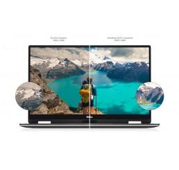 Pc Portable 2018 2 en 1 Dell XPS 13 9365 1.2Kg Core i7 7Y75 Vpro 1.3 GHz Turbo 3.6Ghz Ecran 13.3 Infinity Edge Tactile QHD+ 16G LPDDR3 512G SSD Clavier Azerty rétro Lecteur d'empreinte digitale Licence Windows 10 Pro 64Bit Neuf sous emballage