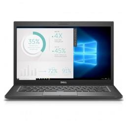 Pc Portable Ultrabook Dell Latitude 7480 Mi 2017 1.36Kg Core i5-6300U Vpro 2.4Ghz Turbo 3Ghz 8G DDR4 256G SSD Ecran 14 FULLHD Clavier rétroéclairé Empreinte digitale Licence Windows 10 Pro En Bon Etat