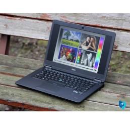 Pc Portable Latitude Ultrabook E7450 5éme Generation 2015 Core i5 5300U Vpro 2.3Ghz Turbo 2.9Ghz 8G 500G SSHD Ecran 14 LED HD Lecteur d'empreinte digitale Clavier rétro Windows 8 Pro Etat comme neuf