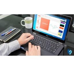 Pc Portable Latitude Ultrabook E7470 Core i5 Vpro 6300U 2.4Ghz Turbo 3Ghz 16G DDR4 256G SSD Ecran 14 FULL HD Clavier rétroéclairé L'empreinte digitale WIGIG Licence Windows 10 Pro Etat comme neuf