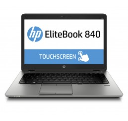 Pc Portable Ultrabook HP EliteBook 840 G2 2015 Vpro Core i5-5300U 2.3Ghz Turbo 2.9Ghz 8GB 256G SSD Ecran 14 Tactile FULLHD - Windows 10 Pro Etat comme neuf Garantie constructeur 19-01-2019
