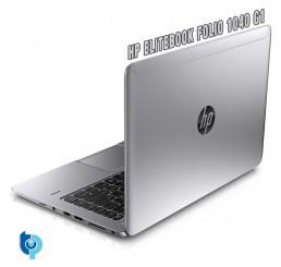 Pc Portable Ultrabook HP Elitebook Folio 1040 G1 Core i7-4600U Vpro 2.1Ghz Turbo 3.3Ghz 8G DDR3L 256G SSD Ecran 14 LED HD+ Clavier rétro lecteur d'empreinte digitale Licence Windows 7 Pro Etat comme neuf Garantie Constructeur 21-03-2018