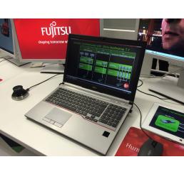 Pc portable Station de travail Fujitsu CELSIUS H730 Mad in Japan Core i7 Vpro Quad 4800MQ 4ème Génération 2.7GHz Turbo 3.7Ghz 16G 512G SSD Ecran 15.6 FULLHD NVIDIA Quadro K2100M 2G GDDR5 WWAN intégré Windows 10 pro En Bon Etat