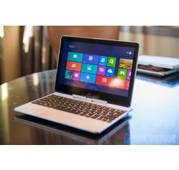 """Pc Portable Ultrabook HP EliteBook Revolve 810 G2 Tablet Core i7 Vpro 4600U 4Gén 2.1Ghz Turbo 3.3Ghz - 8G - 256G SSD Ecran 11,6"""" LED HD Tactile clavier rétro  WWAN et GPS intégré - Recovery Windows 8 Pro - Etat Occasion Garantie constructeur 14-10-2017"""
