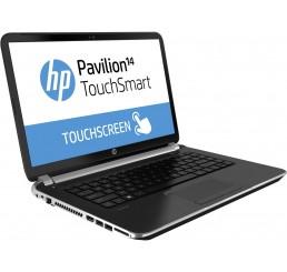 HP Pavilion TouchSmart 14 Core i3 (3ème génération) 3217U 1.8GHz 4G 500G - Ecran HD Tactile avec Recovery Windows 8 - Clavier azerty - Etat comme neuf - Garantie 22-11-2014