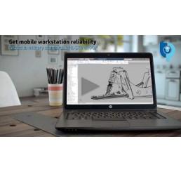 Pc Portable ZBook 14 Mobile Workstation Core i7 4510U 2.0Ghz Turbo 3.1Ghz 8G DDR3L 256G SSD Ecran 14 FULL HD AMD FirePro M4100 Clavier rétro Lecteur d'empreinte digitale Licence Windows 10 Pro Etat comme neuf Garantie 19-02-2018