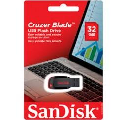 Clé USB SanDisk Cruzer Blade 32 Go Compatible PC et MAC Neuf sous emballage