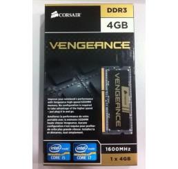 CORSAIR Vengeance Memoire 4G ddr3 SODIMM PC12800 1600Mhz CL9 1.5V CMSX4GX3M1A1600C9 Neuf sous emballage