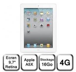 iPad 3 Retina 16G Wifi et 4G Neuf Jamais Servie (sans accessoire)