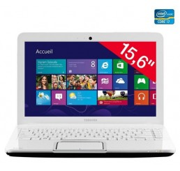 "Toshiba Satellite 15.6"" Core i7 3630QM 8G 500Go- Radeon HD 7670M Windows 8 Neuf sans emballage"