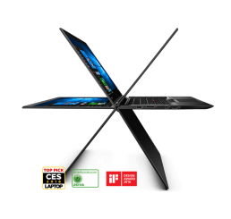 "Pc Portable Ultrabook Lenovo Thinkpad X1 YOGA 2017 Core i5-6200U 2.3Ghz Turbo 2.8Ghz  8G LPDDR3 256G SSD Ecran 14"" Tactile FULLHD Clavier rétro Lecteur d'empreinte digital WWAN 4G LTE Win10 Pro Etat comme neuf Garantie constructeur 12-05-2020"