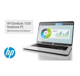 Pc Portable Ultrabook 1.15Kg 2017 HP Elitebook 1030 G1 Core M5-6Y54 1.1Ghz Turbo 2.7Ghz 8G LPDDR3 256G SSD Ecran 13.3 FULLHD Clavier rétroéclairé Licence Win10 pro 64 Bit Neuf sous emballage Garantie Constructeur 21-03-2020