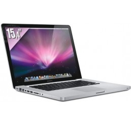 MacBook Pro 15 Core i7 2.4 GHz Quad 4G 750G Radeon HD 6770M 1G - Autonomie ~ 7H Occasion