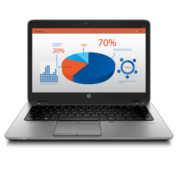 Pc Portable Ultrabook HP EliteBook 840 G1 Core i7-4510U 2,0Ghz Turbo 3,1Ghz 12G 256G SSD Ecrant 14 FULL HD Clavier rétro - WWAN & GPS intégré En Bon Etat Garantie constructeur jusqu'au 15-10-2017