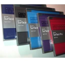 Clavier Type Cover QWERTY Compatible avec Microsoft Surface Pro 3, Surface Pro 4 et la nouvelle Surface Pro (Noir et Bleu) Neuf sous emballage