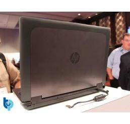 Pc Portable ZBook 15 Mobile Workstation Core i7 Quad 4700MQ 2.4Ghz Turbo 3.4Ghz 4G 500G HDD Ecran 15,6 FULL HD NVIDIA Quadro K610M Clavier rétroéclairé Lecteur d'empreinte digitale Licence Windows 10 Pro Etat comme neuf
