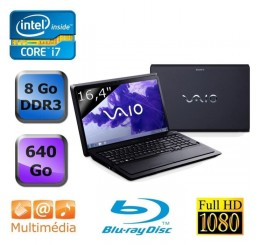 Sony Vaio Core i7-2670QM 2.2Ghz -8g -640G -Nvidia GeForce GT 540M 2G -Blu-Ray Neuf sans emballage