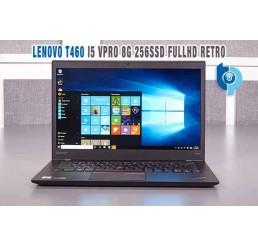 Pc Portable Ultrabook Thinkpad T460 Mi 2016 Core i5-6300U Vpro 2.4Ghz Turbo 3.0Ghz  8G 256G SSD Ecran 14 IPS FULL HD - Clavier rétro - Modem cellulaire 4G LTE - Windows 10 Pro - Etat comme neuf Garantie Constructeur 16-09-2019
