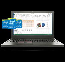 Pc Portable Lenovo Thinkpad T550 Core i7 5600U 2.6Ghz Turbo 3.2Ghz 5éme Génération - 8G - 256G SSD - Ecrant 15,6 FULL HD - Batterie Double Capacité - Windows 8 Pro - Etat comme neuf - Garantie Constructeur 13-11-2018