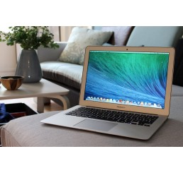 Apple MacBook Air 13 Debut 2014 Core i5 1.4GHz 4Go de RAM 128 Go de stockage Flash Intel HD 5000 1536Mo - OSX El Capitan Seulement 128 Cycles Occasion