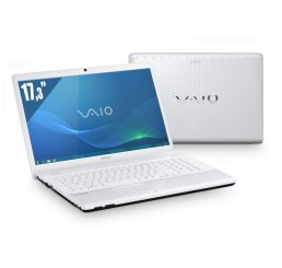 Pc Portable Sony Vaio VPCEJ38 Core i5 2450M 2.5Ghz - 4G - 750G HDD - Ecran 17.3 LED HD+ Nvidia GeForce 410M - Clavier Azerty - Recovery Windows 7 Etat comme neuf