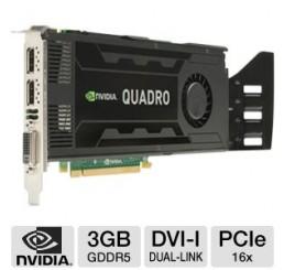 Carte graphique professionnelle Nvidia Quadro K4000 3G G-DDR5 Neuf sans emballage