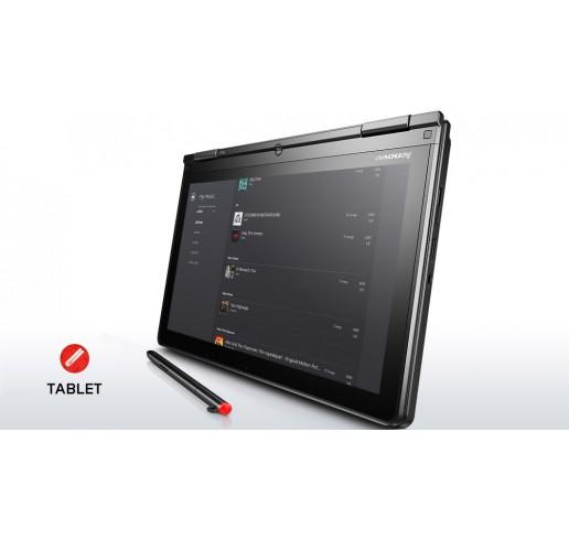 Pc Portable Ultrabook Lenovo Thinkpad S1 YOGA 12 Core i5-5200U 2.2Ghz Turbo  2.7Ghz 4G DDR3L 500G HDD + 16G SSD Ecran 12.5