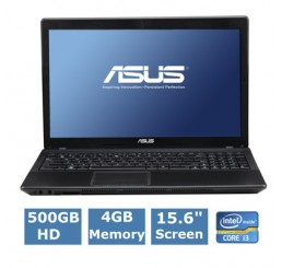 ASUS X54C Core i3-2370M 2,4GHz - Ram 4 Go - HDD 500 Go - USB 3.0 Etat Comme Neuf