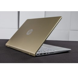 Pc Portable Ultrabook 1.53Kg HP Pavilion 14 GOLD Mi 2017 Core i5 7200U 2.5Ghz Turbo 3.1Ghz  8G DDR4 256SSD 14 FULLHD NVIDIA GeForce 940MX 2G Clavier rétro Licence Win10 64 Bit Neuf sous emballage Garantie constructeur 23-07-2018